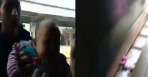 Τρένο πέρασε πάνω από μωρό κι εκείνο σώθηκε! (βίντεο)