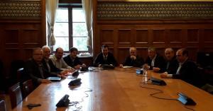 Με τον Υπουργό Εσωτερικών Αλέξη Χαρίτση συναντήθηκε ο Δήμαρχος Ηρακλείου