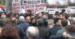Προπηλάκισαν στελέχη του ΣΥΡΙΖΑ στο Πολυτεχνείο (βίντεο)