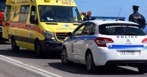 Τροχαίο ατύχημα με τραυματισμό γυναίκας στον ΒΟΑ Κρήτης