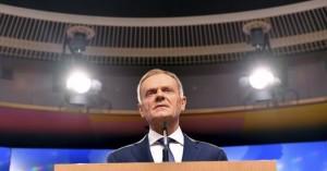 Τουσκ: Στις 25 Νοεμβρίου η Σύνοδος Κορυφής για το Brexit
