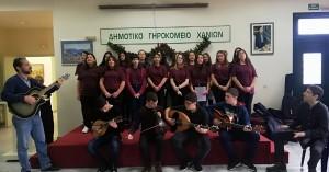 Το Γυμνάσιο Βάμου επισκέπτεται το Δημοτικό Γηροκομείο Χανίων