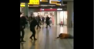 Αεροδρόμιο του Άμστερνταμ -Άνδρας απειλούσε επιβάτες με μαχαίρι