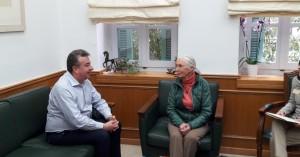 Στην Περιφέρεια Κρήτης η Dr Jane Goodall
