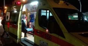 Τροχαίο με εγκατάλειψη και ένα τραυματία στο κέντρο των Χανίων