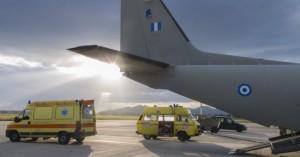 Αεροδιακομιδή τριών βρεφών από την Κρήτη στην Αθήνα