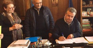 Υπεγράφη η σύμβαση για την παράκαμψη Αρμένων