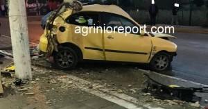 Σοβαρό τροχαίο στο Αγρίνιο με εγκλωβισμό και τραυματισμό της οδηγού