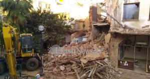 Παρελθόν πλέον τα κτίρια στη Σήφακα στα Χανιά - Φωτο από την κατεδάφιση