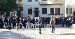 Ένταση στο μνημόσυνο του Κατσίφα στο Ηράκλειο - Τραυματίστηκε αστυνομικός