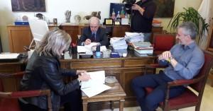 Υπεγράφη η σύμβαση για χώρο πρασίνου εντός του Ηρακλείου