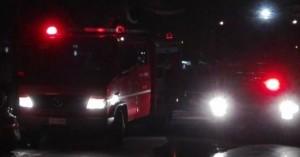 Φωτιά σε σπίτι ξέσπασε το βράδυ στο Ηράκλειο