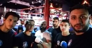 Συμμετείχαν με επιτυχία σε πυγμαχικούς αγώνες στην Αθήνα