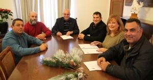 Υπέγραψαν σύμβαση για την κατασκευή των πεζοδρομίων στο Ακρωτήρι