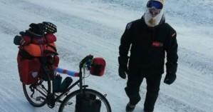 Ήθελε να διασχίσει τη Σιβηρία με ποδήλατο και παραλίγο να πεθάνει στους -50