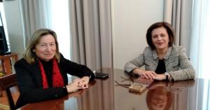Η Βαγγ. Σχοιναράκη στην Υφυπ. Εσωτερικών για το έγκλημα με την φοιτήτρια