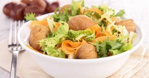 Σαλάτα με κάστανα