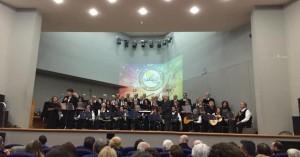 Κατάμεστο το Πνευματικο Κεντρο Χανίων από τη Χορωδία και Μαντολινάτα Χανίων
