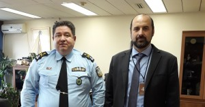 Συνάντηση Θ. Σταθάκη με τον Υπαρχηγό της Ελληνικής Αστυνομίας
