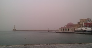 Αφρικανική σκόνη και στην Κρήτη τη Μεγάλη Εβδομάδα