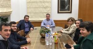 Συνάντηση Περιφερειάρχη με το προεδρείο του συλλόγου Ηπειρωτών Ηρακλείου