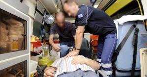 Σωτήρια επέμβαση του ΕΚΑΒ στα Χανιά σε άνδρα
