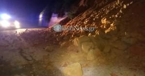 Νέα κατολίσθηση:Έπεσε τεράστιος όγκος λόφου στον Κάτω Σταλό (φωτο - βίντεο)