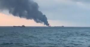 Συναγερμός στο στενό του Κερτς: Nεκροί από έκρηξη και σύγκρουση πλοίων