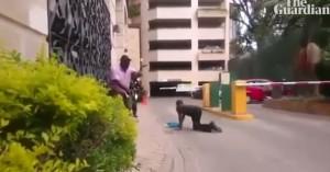 Η στιγμή της τρομοκρατικής επίθεσης σε ξενοδοχείο στο Ναϊρόμπι (βίντεο)