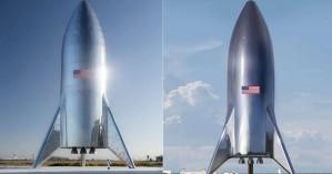 Η Space X παρουσίασε τις πρώτες εικόνες του πυραύλου για τον Άρη