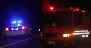 Εγκλωβίστηκε τα ξημερώματα οδηγός σε τροχαίο στο Ρέθυμνο