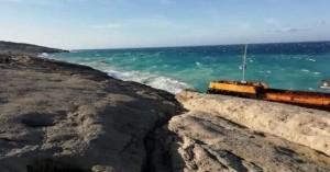 Ανέλκυση διπλού ναυαγίου από τα παράλια της Νότιας Κρήτης