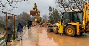 Οι βουλευτές των Χανίων στις πληγείσες από την θεομηνία περιοχές