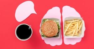 Πρόχειρο φαγητό & σωματική αδράνεια: Οι επιπτώσεις στον εγκέφαλο