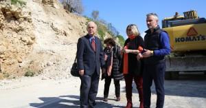 Άμεσα μέτρα για την κατολίσθηση της οδού Αστρινάκη από τον Δήμο Ηρακλείου