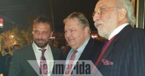 Σαμαράς, Βενιζέλος και πρίγκιπες στο πάρτι Λυκουρέζου-Μαρακάκη για τη συνεργασία τους
