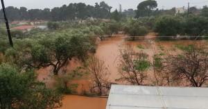Πλημμύρισαν σπίτια στα Χανιά, στον απόηχο της μεγάλης κακοκαιρίας