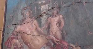 Ο πανέμορφος Νάρκισσος που ανακαλύφθηκε σε τοίχο της Πομπηίας