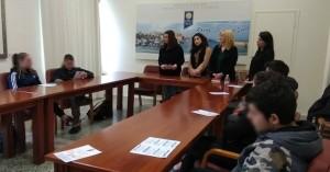 Επίσκεψη μαθητών 1ου ΕΠΑΛ Χανίων στην Κοινωνική Υπηρεσία του Δήμου Χανίων