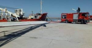 Στο λιμάνι Ηρακλείου η...