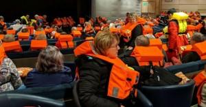 Αίσιο τέλος για το κρουαζιερόπλοιο - Εφτασε στο λιμάνι του Μόλντε