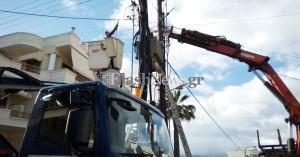 Προσπάθεια εξεύρεσης λύσης στα προβλήματα ηλεκτροδότησης στην Κίσαμο