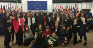 Χανιώτες μαθητές στη σύνοδο Euroscola στο Ευρωκοινοβούλιο
