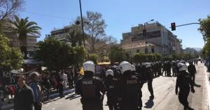 Επεισόδια στην Καλλιθέα: Η αστυνομία έκανε 12 συλλήψεις εκ των οποίων οι 4 ανήλικοι