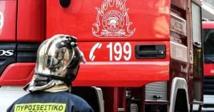Λασίθι: Πυρκαγιά στο κέντρο της Ιεράπετρας! (φώτο)
