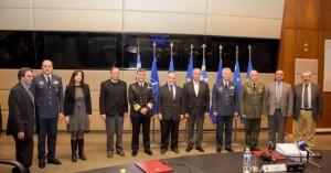 Υπογραφή Μνημονίου Συνεργασίας Υπ.Εθνικής Άμυνας και Πολυτεχνείου Κρήτης (φωτο)