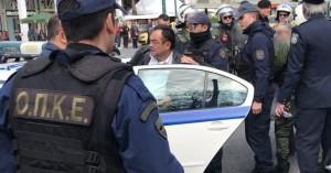 Μαθητική παρέλαση στην Αθήνα:Προσαγωγές πολιτών που φώναζαν κατά της Συμφωνίας των Πρεσπών