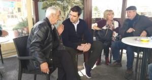 Στη Βιάννο ο υποψήφιος Περιφερειάρχης Κρήτης Αλέξανδρος Μαρκογιαννάκης