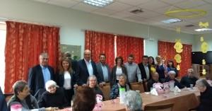Σε ιδρύματα των Χανίων ο Δήμαρχος Χανίων με υποψήφιους του