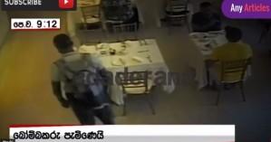 Νέο βίντεο - ντοκουμέντο με βομβιστή σε ξενοδοχείο της Σρι Λάνκα